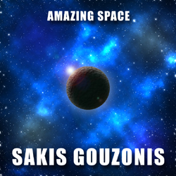 Instrumental electronic music album Amazing Space by Sakis Gouzonis