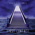 Beautiful electronic music album First Contact by Sakis Gouzonis