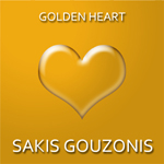 Beautiful electronic music album Golden Heart by Sakis Gouzonis