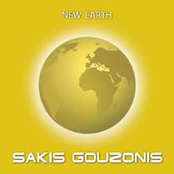 Instrumental electronic music album New Earth by Sakis Gouzonis