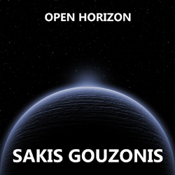 Instrumental electronic music album Open Horizon by Sakis Gouzonis