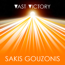 Instrumental electronic music album Vast Victory by Sakis Gouzonis